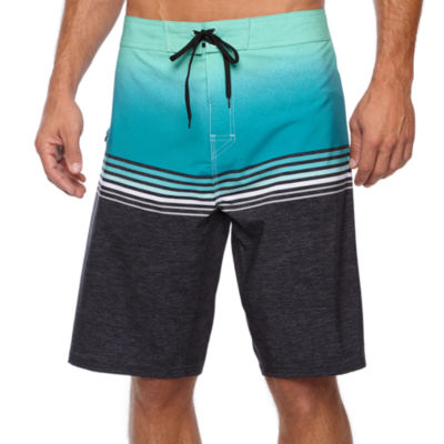Burnside High Tide Striped Board Shorts