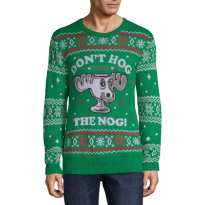Ugly Christmas Don't Hog The Nog Sweater