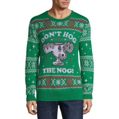 Ugly Christmas Don't Hog The Nog Sweater