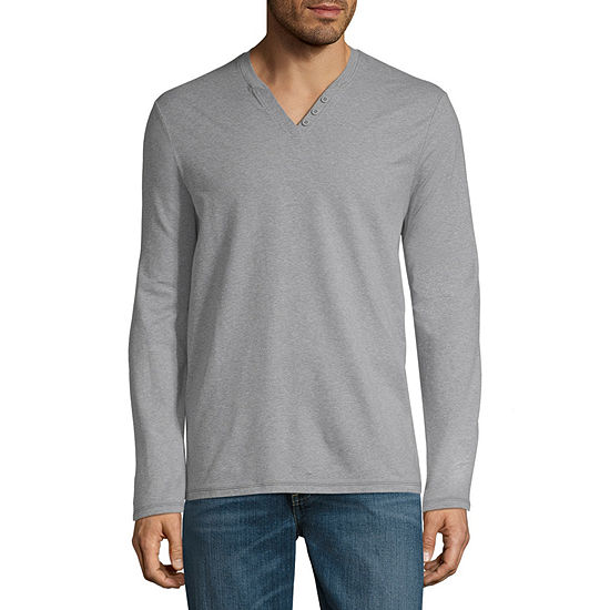 e40a7fbdb24ec Boston Traders Long Sleeve Henley Shirt JCPenney