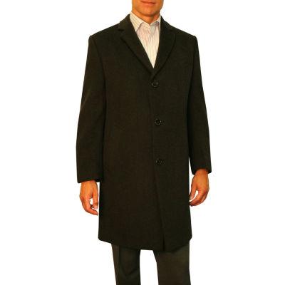 Jean Paul Germain Sander Wool Blend Topcoat - Big & Tall