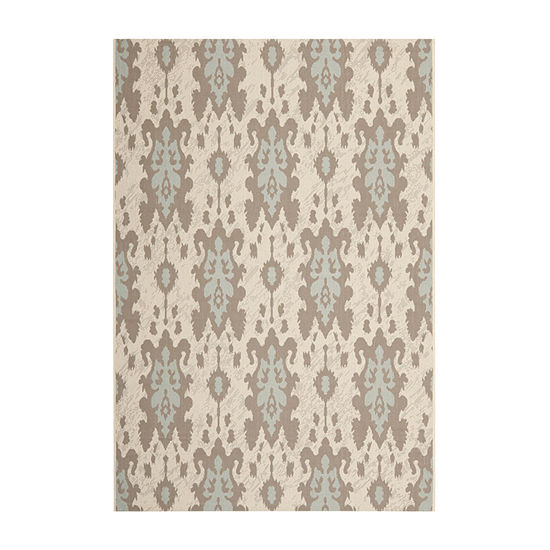 Safavieh Courtyard Collection Jerrod Floral Indoor/Outdoor Area Rug