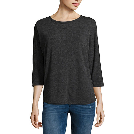 a.n.a 3/4 Sleeve Dolman Top - Tall