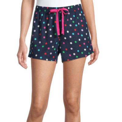 Sleep Chic Womens Flannel Pajama Shorts
