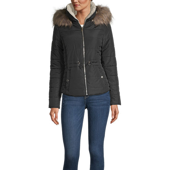 Maralyn And Me Lightweight Puffer Jacket-Juniors