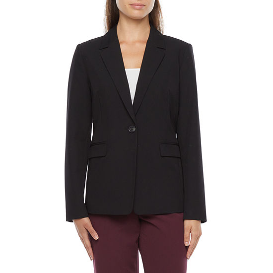 Liz Claiborne Womens Regular Fit Blazer