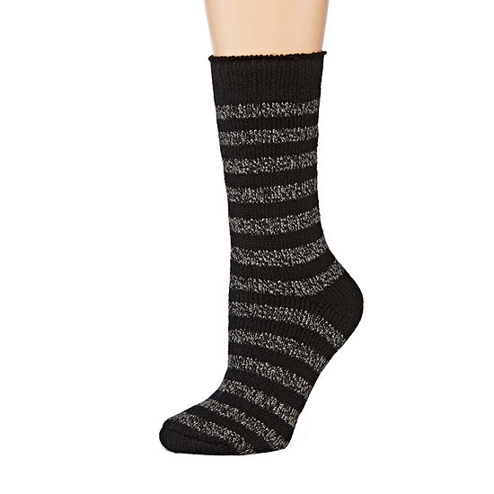 Women's Heat Holders® Striped Thermal Crew Socks