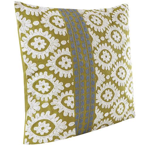 """Harbor House Suzanna 18"""" Square Decorative Pillow"""
