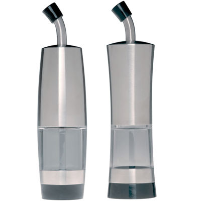 BergHOFF® Geminis 2-pc. Oil and Vinegar Dispenser Set