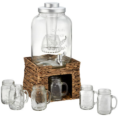 Artland Garden Terrace 8-pc. Beverage Dispenser Set