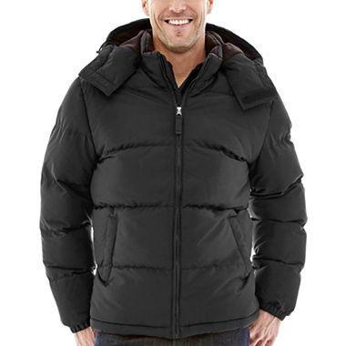 St. Johns Bay Puffer Mens Jacket