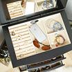 Hives & Honey Landry Black Jewelry Armoire