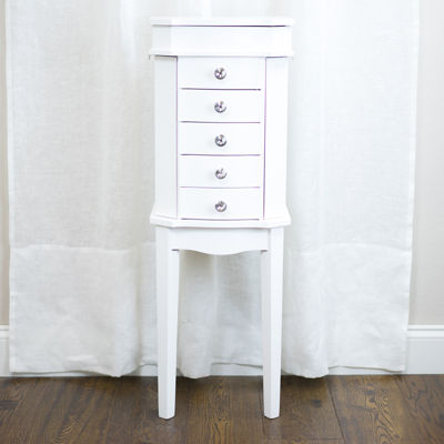 Hives & Honey Meg White Jewelry Armoire
