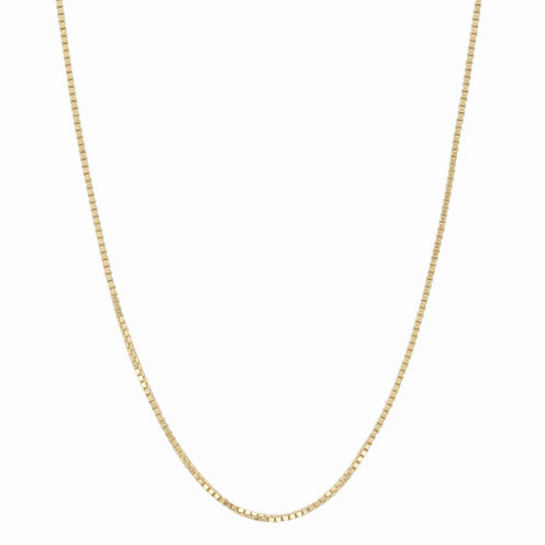 10K Yellow Gold 058 Box Chain Necklace