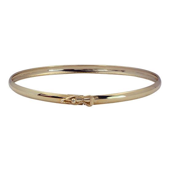 14K Gold Kids' Bangle Bracelet