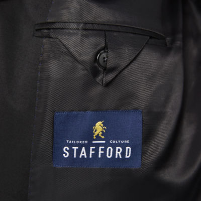Stafford Travel Wool Blend Stretch Jacket-Portly Fit
