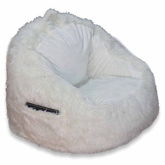 01e90a787d Faux Fur Bean Bag Chair JCPenney