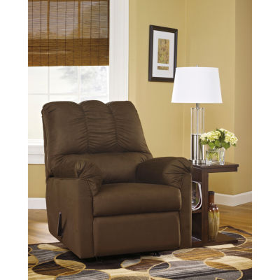 Signature Design by Ashley Darcy Rocker Recliner in Microfiber