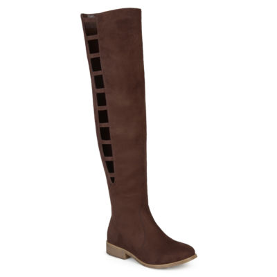 Journee Collection Pitch Womens Over the Knee Boots