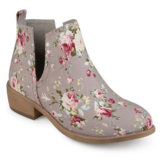 Journee Collection Womens Roone Booties Block Heel