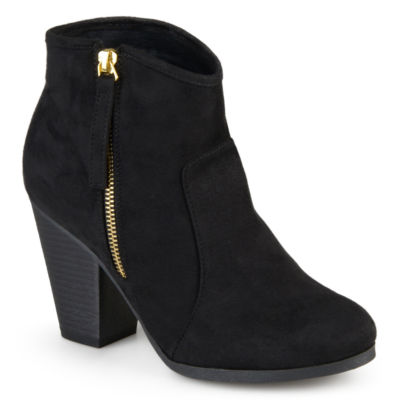 Journee Collection Link-Wd Womens Bootie Wide