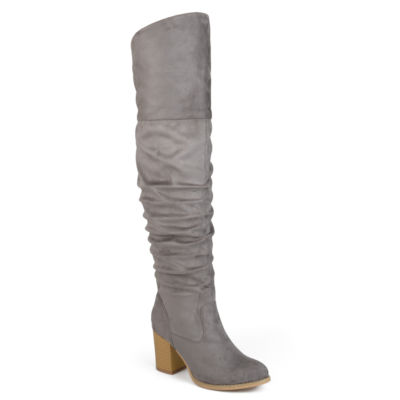 Journee Collection Kaison-Wide Calf Womens Dress Boots