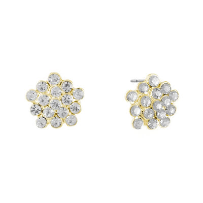 Liz Claiborne Clear Stud Earrings