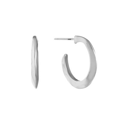 Liz Claiborne 15mm Hoop Earrings