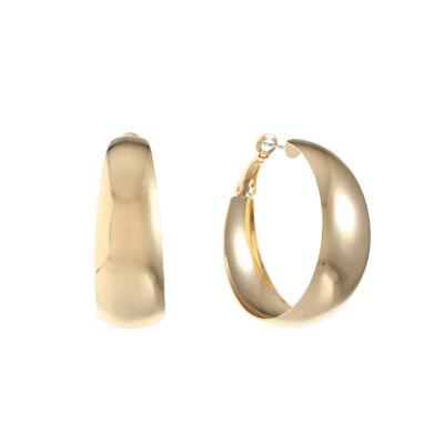 Liz Claiborne 39.1mm Hoop Earrings