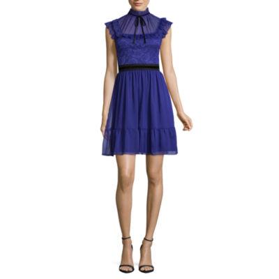 Disney Princess Sleeveless A-Line Dress-Juniors