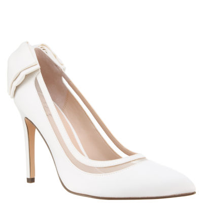 I. Miller Reyhan Womens Pumps Pointed Toe Stacked Heel