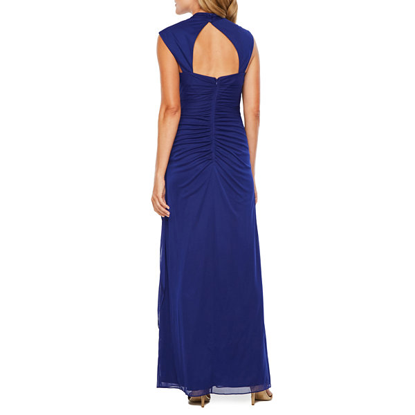 Scarlett Sleeveless Embellished Evening Gown