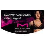 Maidenform Modern Beauty Underwire Unlined Plunge Demi Bra-Dm9600