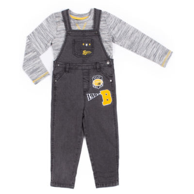 Little Lass 2-pack Overall Set-Baby Boys