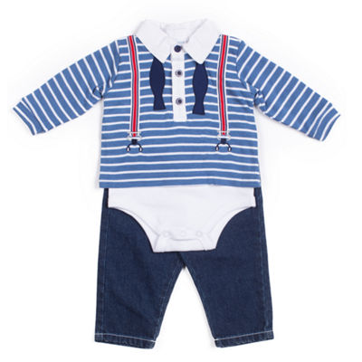 Little Lass 2-pack Bodysuit Set-Baby Boys