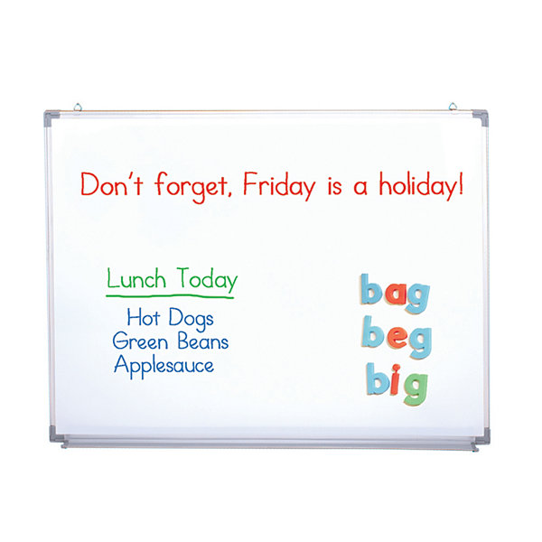 Educational Insights 3-IN-1 Flannel Magnetic Wipe-Off Board