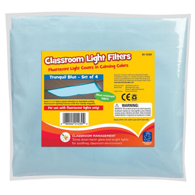 Educational Insights Fluorescent Light Filters Setof 4