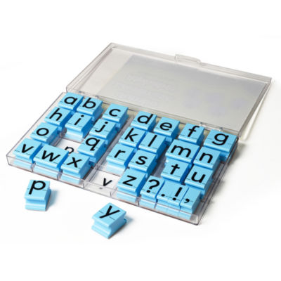 Educational Insights Alphabet Rubber Stamps Jumbo— Lowercase 1""