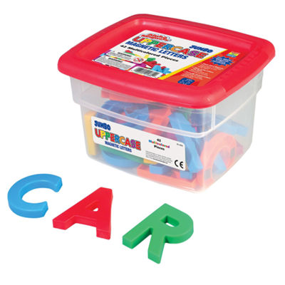 Educational Insights AlphaMagnets® — Jumbo Multicolored Uppercase (42 Pieces)