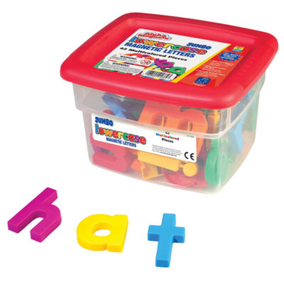 Educational Insights AlphaMagnets® — Jumbo Multicolored Lowercase (42 Pieces)