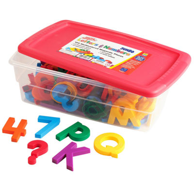 Educational Insights AlphaMagnets® & MathMagnetsCombo Set — Jumbo Multicolored (100 pieces)