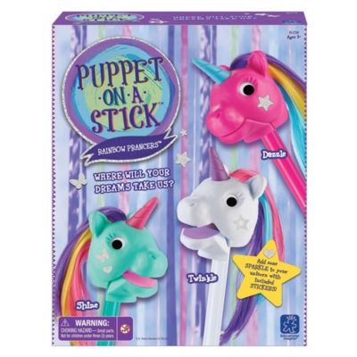 Educational Insights Rainbow Prancers™ Puppet-on-a-Stick™ Box Set of 3
