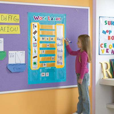 Educational Insights Word Ladder Phonics ActivityCenter