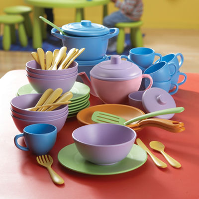 Educational Insights Classroom Café™ Dining Play Set  (Set of 60)