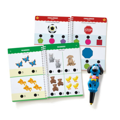 Educational Insights Hot Dots® Jr. Let's Master Pre-K Math Set with Ace Pen
