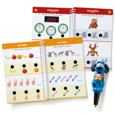 Educational Insights Hot Dots® Jr. Let's Master Kindergarten Set with Ace Pen