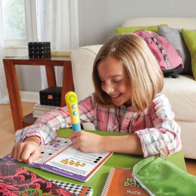 Educational Insights Hot Dots® Jr. Let's Master Grade 3 Math Set with Hot Dots Pen