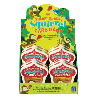 Educational Insights The Sneaky Snacky Squirrel Card Game!™ Counter Display of 8
