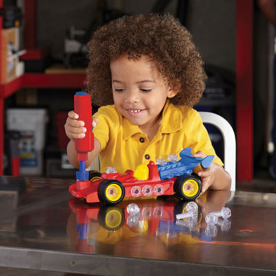 Educational Insights Design & Drill® Power Play Vehicles™ — Race Car
