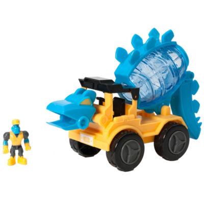 Educational Insights Dino Construction Company™—  Helix the Stegosaurus Cement Mixer Set